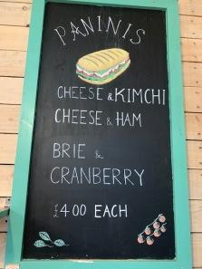 Paninis at East Scryne Fruit